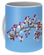 Red Haws Frosted By Snow Coffee Mug
