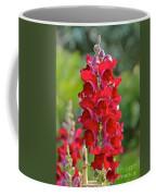 Red Snapdragon Coffee Mug