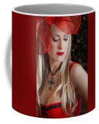Red Hot Coffee Mug by Evelina Kremsdorf