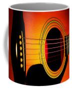 Red Hot Guitar Coffee Mug
