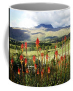 Red Hot Pokers Of The Andes Coffee Mug