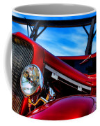 Red Hot Rod Coffee Mug by Olivier Le Queinec