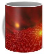 Red Ice Mountain Coffee Mug