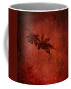 Red Japanese Maple On Red Coffee Mug