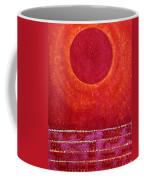 Red Kachina Original Painting Coffee Mug