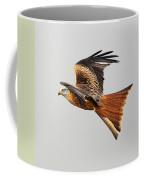 Red Kite Soaring Coffee Mug