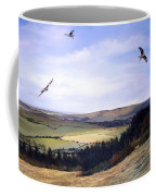 Red Kites At Coombe Hill Coffee Mug