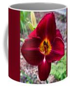 Red Lady Lily 4 Coffee Mug