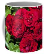 Red Lavaglut Lavaglow Floribunda Roses Coffee Mug