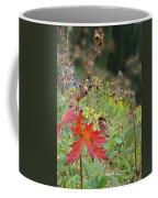 Red Leaf Coffee Mug