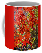 Red Leaves 1 Coffee Mug