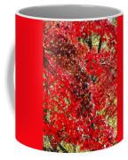 Red Leaves 3 Coffee Mug