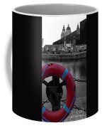 Red Lifebelt At Albert Dock 2 Coffee Mug
