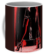 Red Light Black Dress Coffee Mug