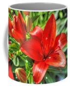 Red Lily 2 Coffee Mug