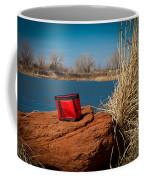 Red Lunch Bag Coffee Mug