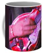 Red Mandolin Coffee Mug