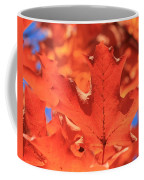 Peak Color Maple Leaves Coffee Mug