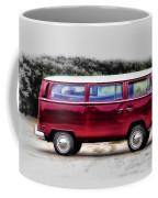 Red Microbus Coffee Mug