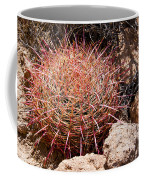 Red Mohave Barrel Cactus Coffee Mug
