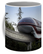 Red Monorail Disneyland 02 Coffee Mug