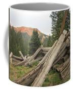 Red Mountain Ruins Coffee Mug