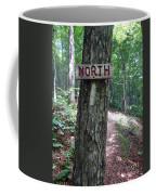 Red North Sign Coffee Mug