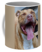 Red Nose Pit Bull Terrier Coffee Mug