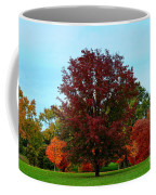 Red Oak In Loose Park Coffee Mug