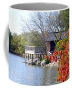 Red October On The Lake Coffee Mug