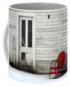 Red On White Coffee Mug