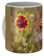 Red On Yellow Coffee Mug