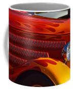 Red Orange And Yellow Hotrod Coffee Mug
