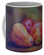 Red Pears Five Coffee Mug