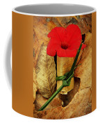 Red Petunia  Coffee Mug