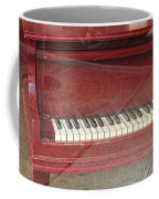 Red Piano 2 Coffee Mug