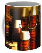 Red Plaid Coffee Mug