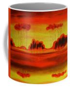Red Planet Coffee Mug