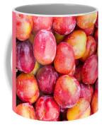 Red Plums Coffee Mug