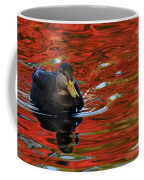 Red Pond Coffee Mug