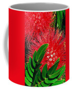 Red Powder Puff Coffee Mug