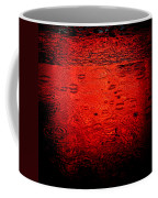 Red Rain Coffee Mug by Dave Bowman