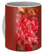 Red Red Red Coffee Mug by Anne Gilbert