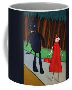 Red Ridinghood Coffee Mug by James W Johnson