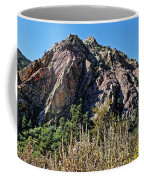 Red Rock Canyon With Foliage Coffee Mug