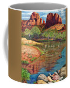 Red Rock Crossing-sedona Coffee Mug by Marilyn Smith