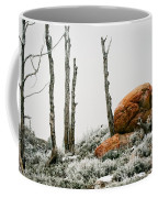 Red Rock Frost - Green Mountain - Wyoming Coffee Mug