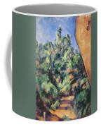 Red Rock Coffee Mug by Paul Cezanne