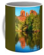 Red Rock Reflection Coffee Mug