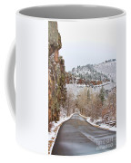 Red Rock Winter Drive Coffee Mug by James BO  Insogna